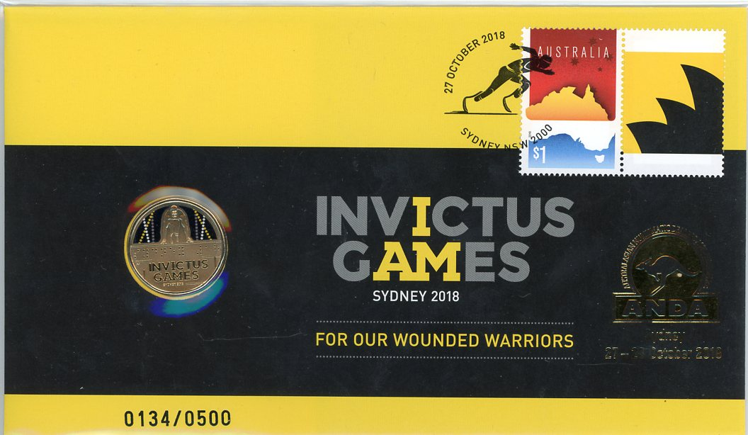 Thumbnail for 2018 Issue 22 Invictus Games  -  ANDA Issue