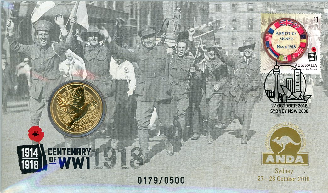 Thumbnail for 2018 Issue 23 Centenary WW1 - ANDA Issue