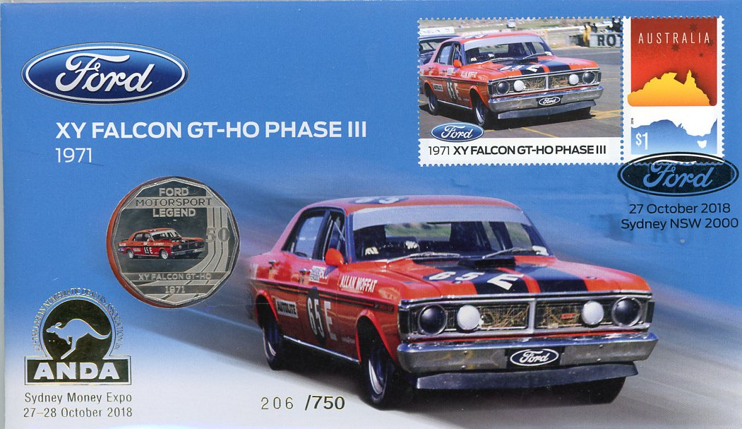 Thumbnail for 2018 Issue 25 1971 XY Falcon GT-HO Phase 111 - ANDA Issue