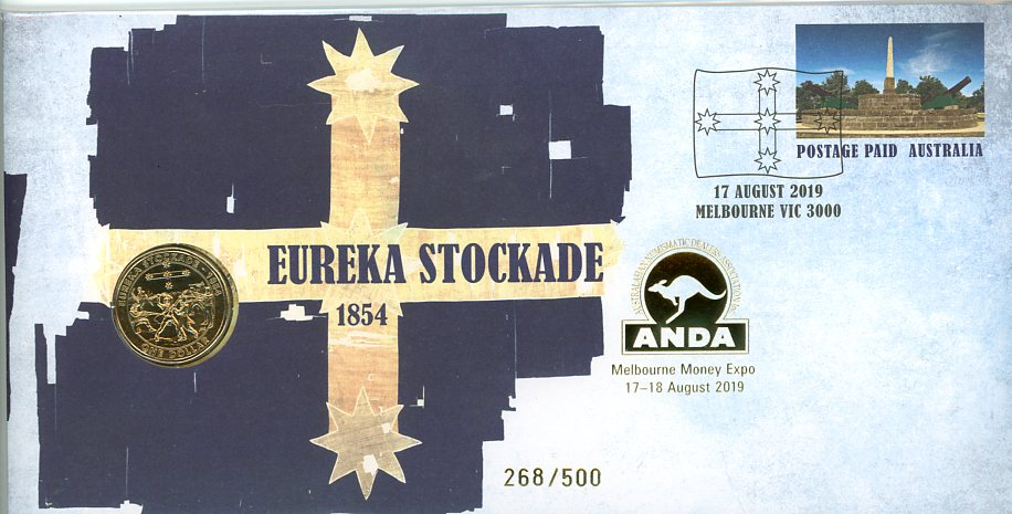 Thumbnail for 2019 Eureka Stockade - ANDA Issue