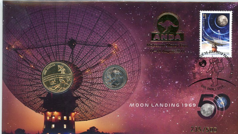 Thumbnail for 2019 Issue 26 - Moon Landing Anniversary ANDA Issue