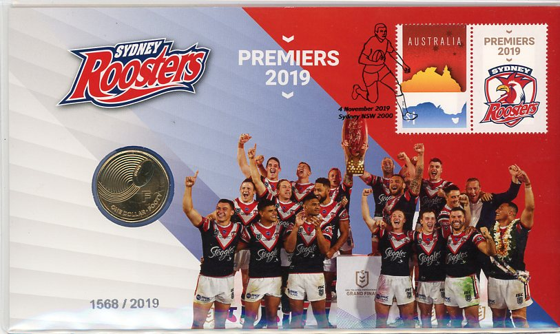 Thumbnail for 2019 Issue 36 - NRL Premiers Sydney Roosters