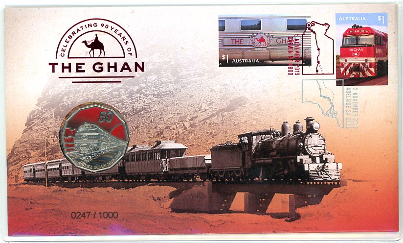 Thumbnail for 2019 Celebrating 90 Years of the Ghan Limited Edition PNC
