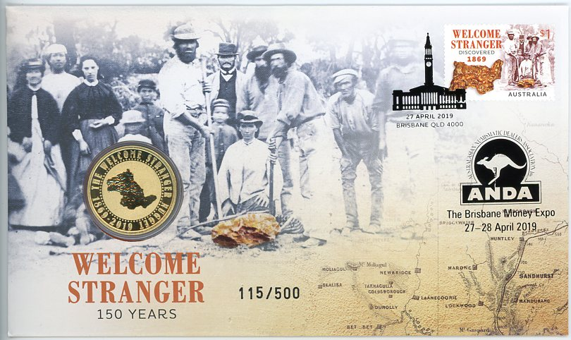 Thumbnail for 2019 Issue 10 Welcome Stranger 150 Years - ANDA Issue