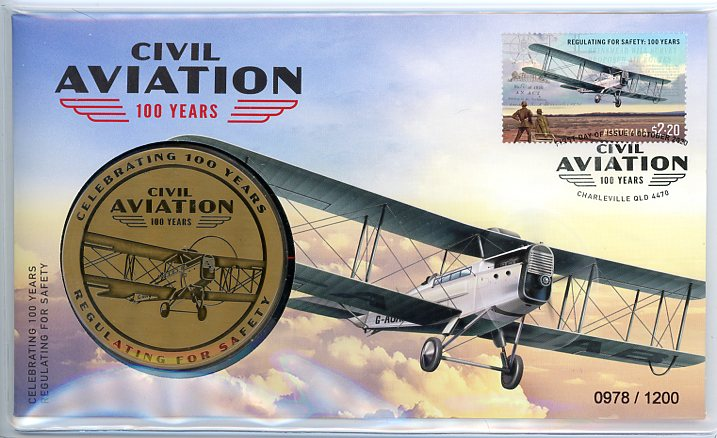 Thumbnail for 2020 100 Years of Civil Aviation PNC
