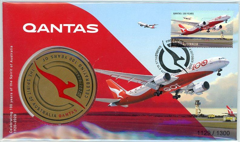 Thumbnail for 2020 Celebrating 100 Years of QANTAS The Spirit of Australia - PNC