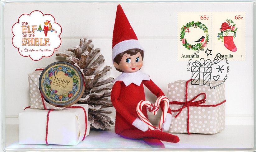 Thumbnail for 2020 Issue 18 Merry Christmas PNC - The Elf on the Shelf