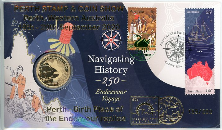 Thumbnail for 2020 Issue 5 Navigating History - Perth Stamp Show Overprint