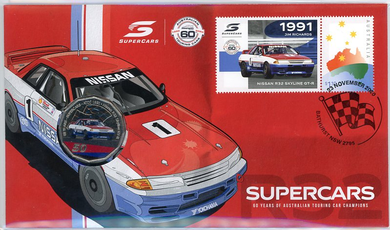 Thumbnail for 2020 Issue 17 1991 Nissan R32 Skyline GTR  - 60 Years of Supercars