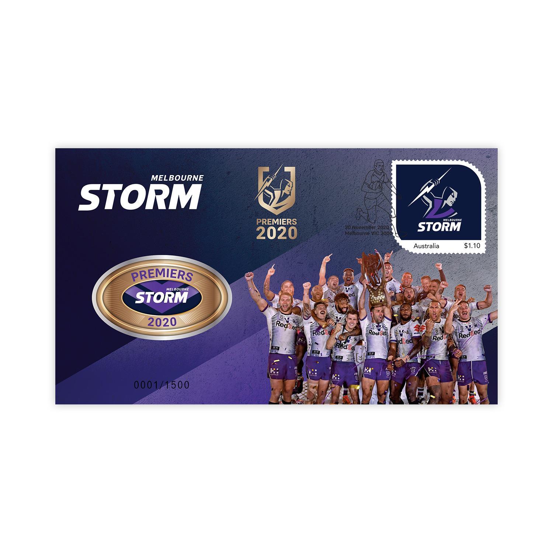 Thumbnail for 2020 Melbourne Storm NRL Premiers PNC
