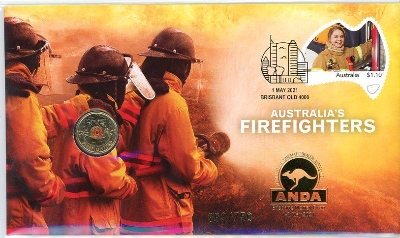 Thumbnail for 2021 Issue 3 Australia's Firefighters Brisbane ANDA Money Expo PNC