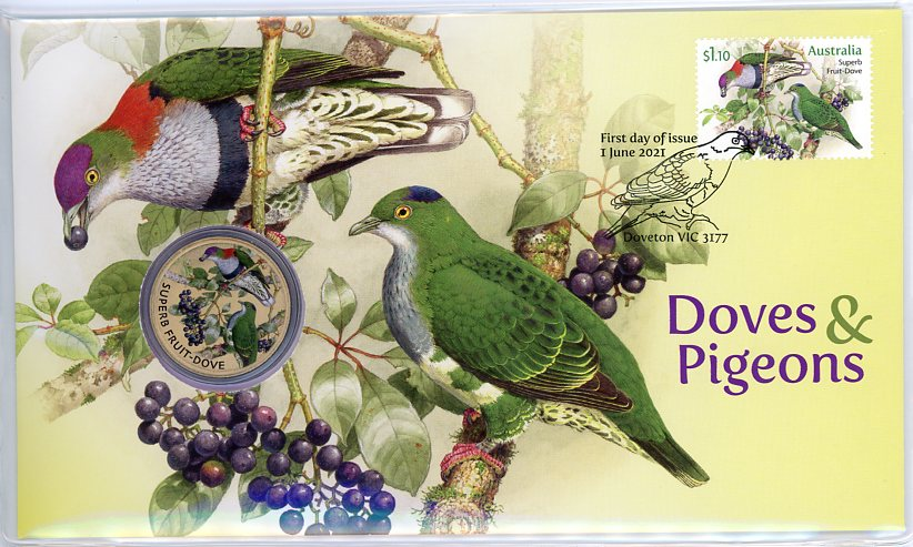 Thumbnail for 2021 Issue 26 -  Doves & Pigeons PNC Limited to 6,500
