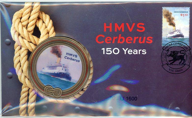 Thumbnail for 2021 HMVS Cerberus 150 Years PNC