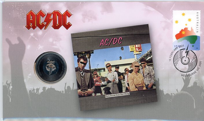 Thumbnail for 2021 Issue 12 ACDC - Dirty Deeds Done Dirt Cheap PNC