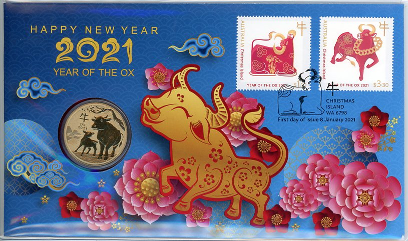 Thumbnail for 2021 Issue 1 Happy New Year - Year of the Ox