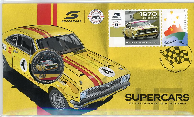 Thumbnail for 2021 Issue 4 1970 Holden HT Monaro GTS 350 - 60 Years of Supercars