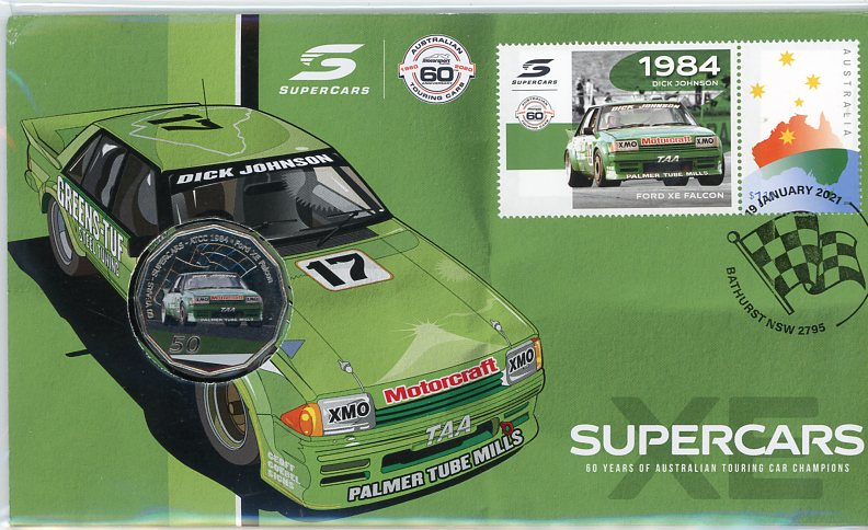 Thumbnail for 2021 Issue 5 1984 Ford XE Falcon - 60 Years of Supercars