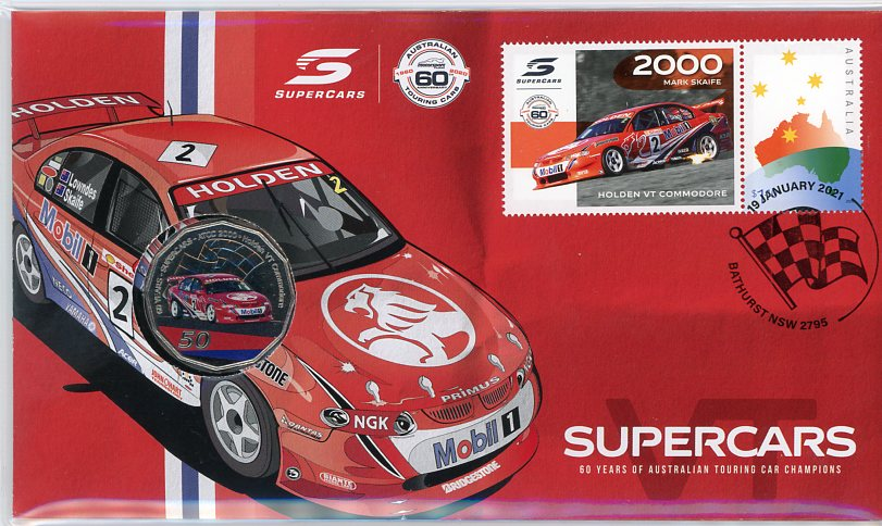Thumbnail for 2021 Issue 7 2000 Holden VT Commodore - 60 Years of Supecars