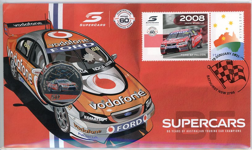 Thumbnail for 2021 Issue 8 2008 Ford BF Falcon - 60 Years of Supercars