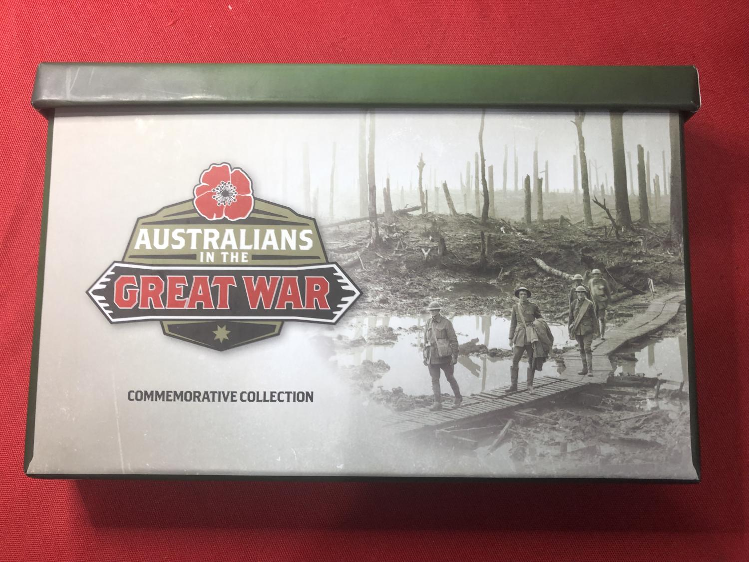 Thumbnail for 2017 Australians in the Great War Commemorative Collection 275-750