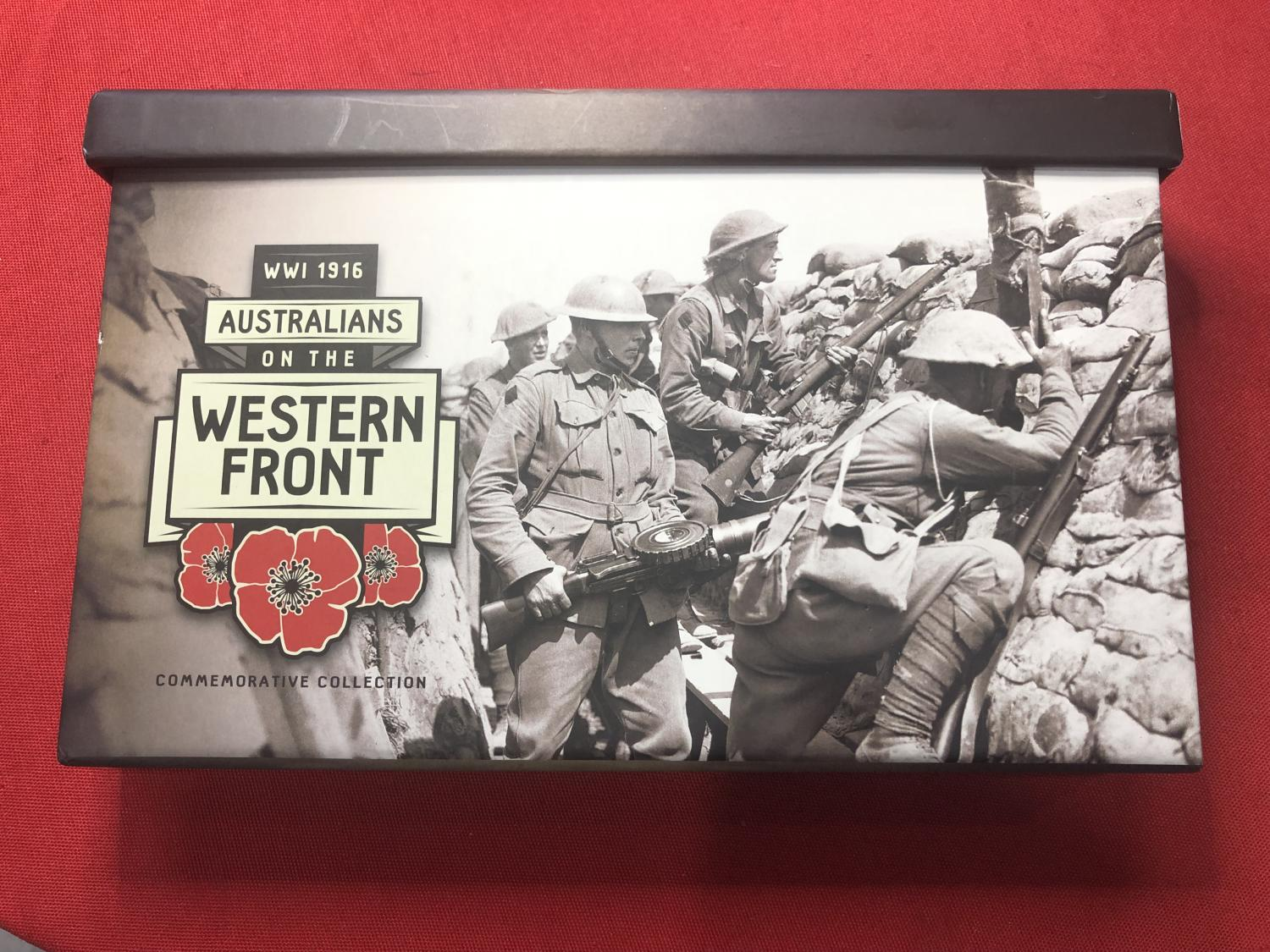 Thumbnail for 2016 Australians on the Western Front Commemorative Collection 637-1000
