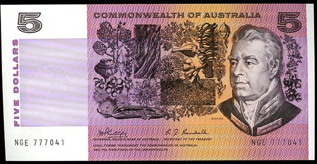 Thumbnail for 1969 $5 Phillips-Randall NGE 777041 UNC