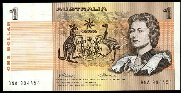 Thumbnail for 1974 Phillips-Wheeler $1 BNA 994454 gVF