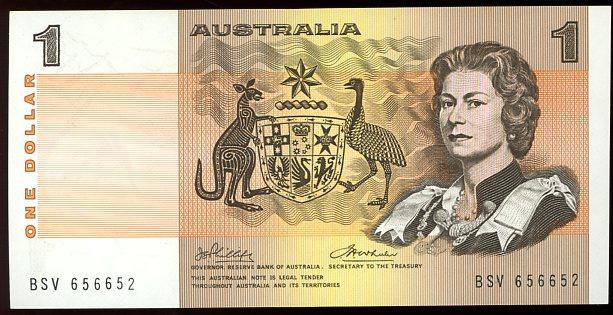 Thumbnail for 1974 $1 Phillips Wheeler BSV 656652 gEF