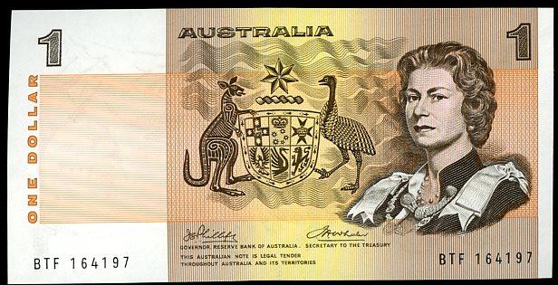 Thumbnail for 1974 $1 Phillips-Wheeler BTF 164197 aUNC