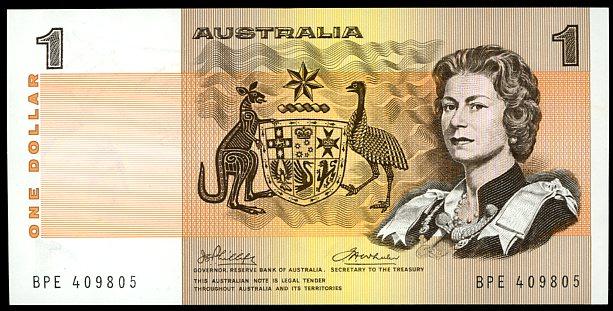 Thumbnail for 1974 $1 Phillips-Wheeler BPE 409805 aUNC