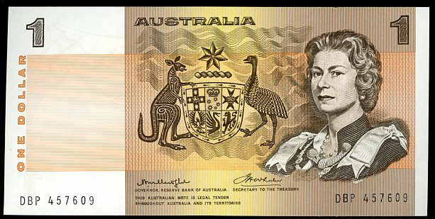Thumbnail for 1976 $1 Test Note Knight-Wheeler DBP 457609 UNC