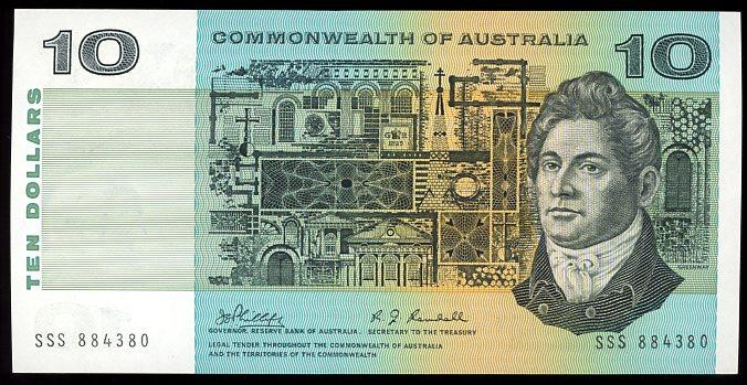 Thumbnail for 1968 $10 Phillips-Randall SSS 884380 aUNC