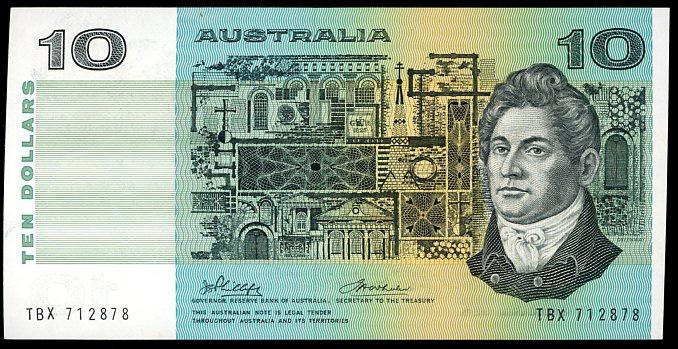 Thumbnail for 1972 $10 Phillips-Wheeler SUS 483570 UNC