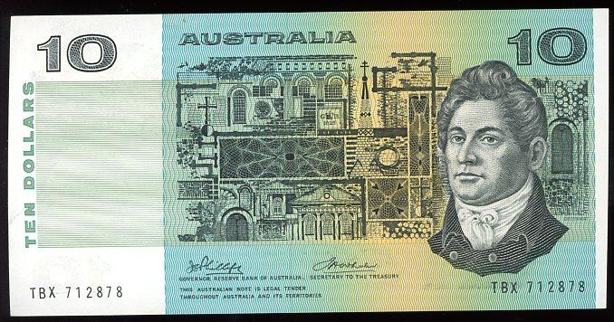 Thumbnail for 1974 $10 Phillips-Wheeler TBX 712878 UNC