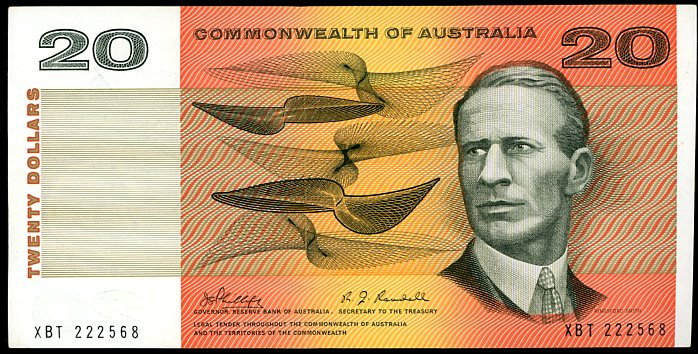 Thumbnail for 1968 $20 Phillips-Randall XBT 222568 EF