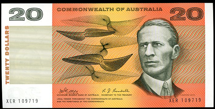 Thumbnail for 1968 $20 Phillips-Randall XER 109719 UNC
