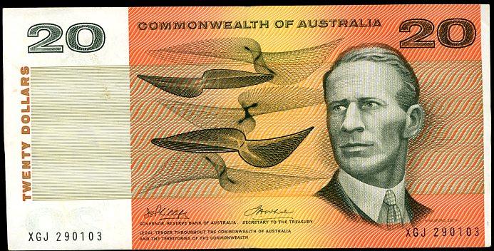 Thumbnail for 1972 $20 Phillips-Wheeler XGJ 290103 VF