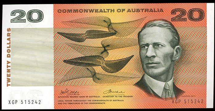 Thumbnail for 1972 $20 Phillips-Wheeler XGP 515242 UNC