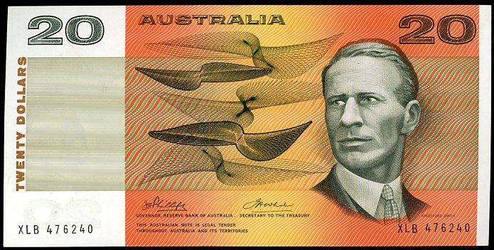 Thumbnail for 1974 $20 Phillips-Wheeler XLB 476240 UNC