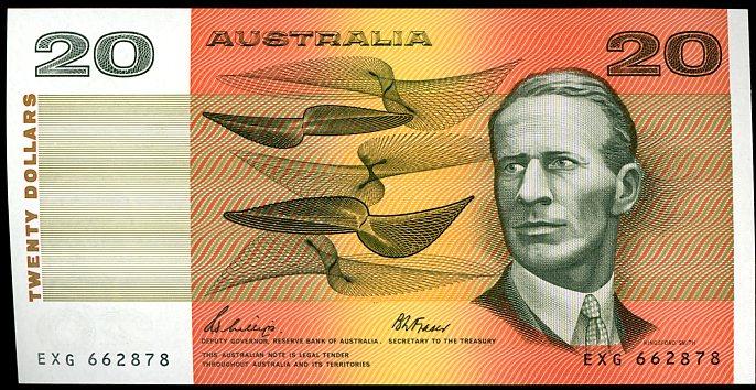 Thumbnail for 1989 $20 Phillips-Fraser EXG 662878 aUNC
