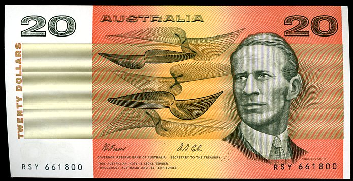 Thumbnail for 1991 $20 Fraser-Cole RSY 661800 aUNC