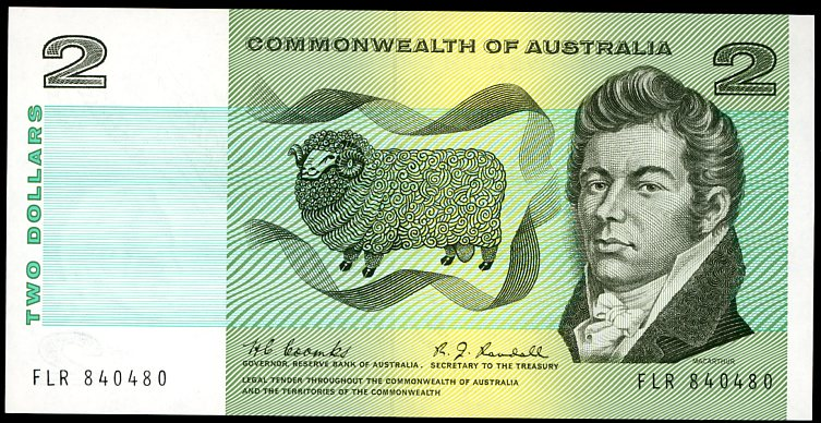 Thumbnail for 1967 $2 Coombs-Randal  FLR 840480 aUNC