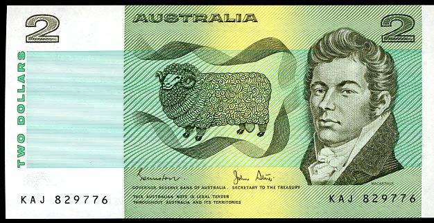 Thumbnail for 1983 $2 Johnston-Stone KAJ 829776 aUNC