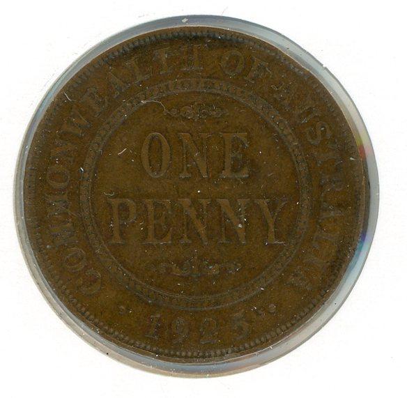 Thumbnail for 1925 Australian Penny FINE (G)