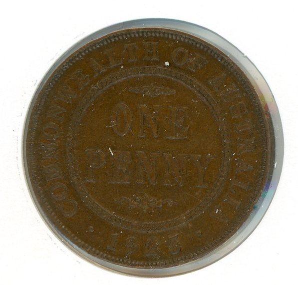 Thumbnail for 1925 Australian Penny FINE (H)