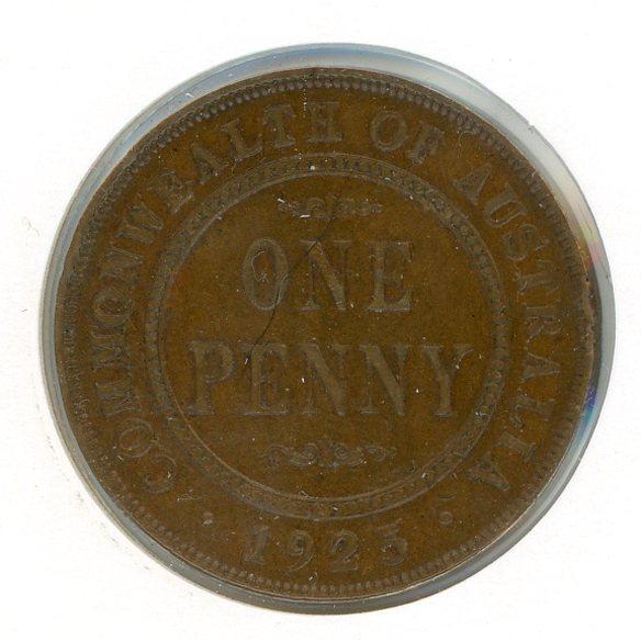 Thumbnail for 1925 Australian Penny aVF (J)