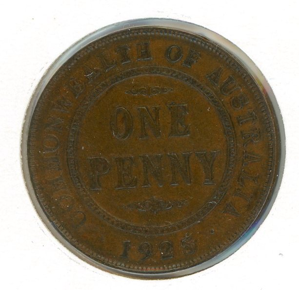 Thumbnail for 1925 Penny Fine (C)