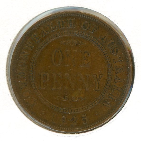 Thumbnail for 1925 Penny Fine (D)