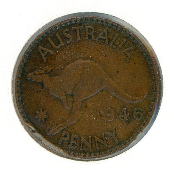 Thumbnail for 1946 Australian Penny (E)