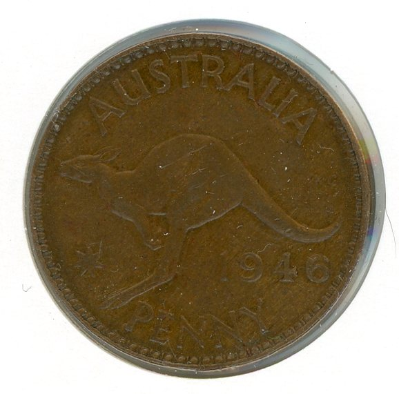 Thumbnail for 1946 Australian One Penny  (X)